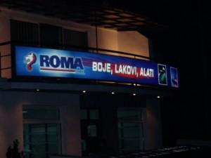 svetleće reklame